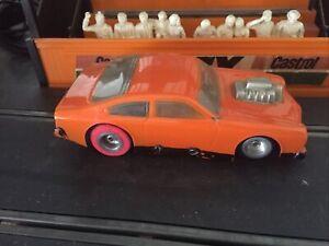 Vintage 1/32 Scale Slot Car Scalextric Size