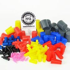 "235pc 1/32"" to 1"" Powder Coating Plug Kit High Temp Silicone Painting Assortment"