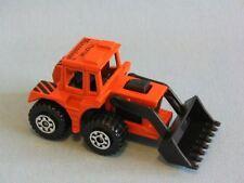 Matchbox Tractor Shovel Mucosolvan Orange German Promo Digger
