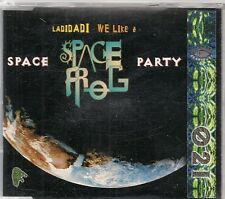 MAXI CD 7 TITRES--SPACE FROG--SPACE PARTY--1996