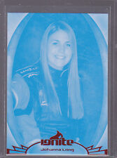 2012 Press Pass Ignite Proofs Cyan #43 Johanna Long NNS