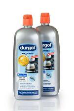 2x1L Durgol Express Entkalker für Kaffeevollautomaten