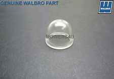 BRAND NEW GENUINE WALBRO CARBURETOR PRIMER BULB 188-12, 2 YR WARRANTY