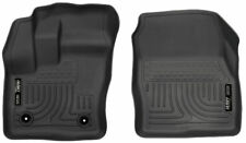 Fits 14-19 Transit Connect Husky Liners WeatherBeater Front 2pc Floor Mats 18321