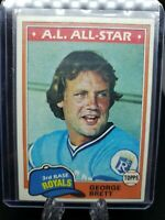 1981 Topps Baseball GEORGE BRETT #700 Kansas City Royals