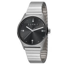 ESPRIT Ladies Womans Watch Analogue VinRose Black Silver Matt Quartz RRP £109