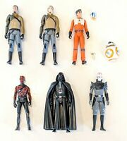 CHOOSE: 2014-2019 Star Wars Rebels/Resistance Action Figures * Hasbro