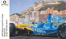 Coffee Mug 2006 Monaco GP winner Renault R26 #1 Fernando Alonso Toon Nagtegaal