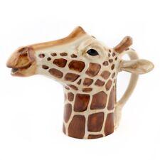 Ceramic Giraffe Jug Medium Size By Quail Ceramics