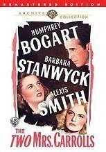 TWO MRS CARROLS (1947 Humphrey Bogart) Region Free DVD - Sealed