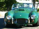 1966 Shelby Cobra cobra roadster British racing green, Built in 2000 Driven only on road 4100 mi