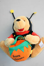 "Disney HALLOWEEN WINNIE THE POOH IN BEE COSTUME 10"" Plush Stuffed Animal"