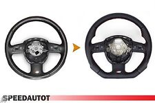 Part Exchange Tuning S-Line Flattened Steering Wheel Multi Function Leather
