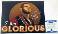 WWE NXT Bobby Roode Autographed 8X10 Photo Signed Wrestlemania TNA Beckett COA