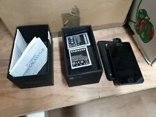 SAMSUNG GALAXY S2 NFC GT-I9000 16GB Noble Black  Smartphone boxed 👍see info