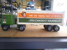 Vintage ERTL Scotty's Semi-Truck