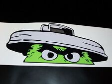 "Oscar the grouch 6.5"" X 14"" sticker JDM Low car truck window drift decal Mud 4X4"