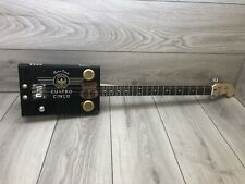 More details for three string electric joya de nicaragua route 66 cigar box guitar