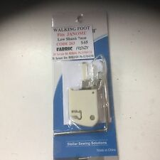 WALKING FOOT 7mm suits JANOME Low Shank