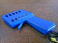 Mattel Hot Wheels Racing Controller Slot Cars Tyco HO Scale Car Speed Power Blue