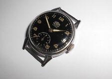 Alte Herren ⌚ HERCULES Militär Uhr Stil 50er Vintage Handaufzug defekt f. repair