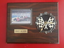 Davey Allison-Vintage wall clock NASCAR racing- Ramar Ind, Inc. 1984