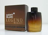 Mont Blanc LEGEND NIGHT 4,5 ml EDP Miniatur