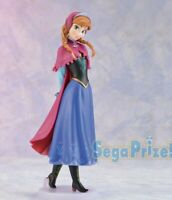 Figura Anna 18cm Disney Frozen Sega Japan Premio Estatua