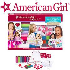 NEW American Girl Doll Craft Kit 8-in-1 Fashion Accessory Super Set, No Sew FUN