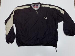 Vintage New York Yankees Pullover Jacket Majestic Mens Extra Large