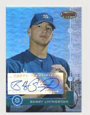 2004 Bowmans Best Baseball Bobby Livingston First Year Autograph Card #/974