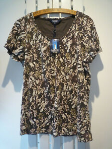 Ladies Top T Shirt by Maine New England - Debenhans Size 18 New