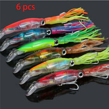 Polpo octopus squid TRAINA SPINNING ARTIFICIALE ESCA shimano JIG pesca rapala#