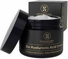 Crème Hydratante Visage BIO Acide Hyaluronique 50ml - Soin Visage pour Femme ...