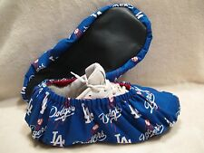 Men's MLB, L.A.Dodgers Bowling Shoe Coves.  Handmade. Lined with vinyl soles.