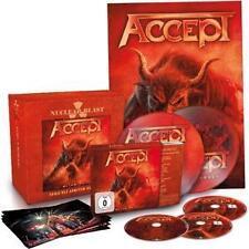 "Accept - Blind Rage (2014) Boxset - CD + Blu-ray + DVD + 2 7""-Picture-EPs - Neu"
