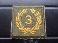 AUSTRALIAN ARMY FORMATION SIGN PATCH - 3rd DIVISION Patch ( Lot 159)