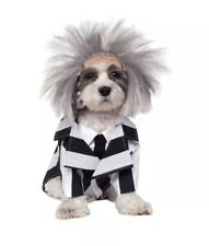 Beetlejuice Dog Costume Funny Pet Outfit Halloween NWT