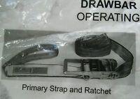 3 inch Ratchet Straps Heavy duty Cargo Semi Truck tie downs/draw bar straps.