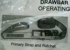 3 inch Ratchet Straps Heavy duty Cargo Semi Truck tie downs/draw bar straps.