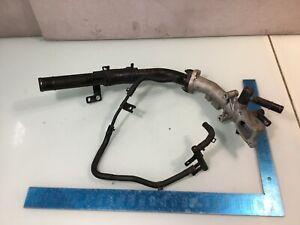 10-14 Hyundai Genesis Coupe 2.0L Coolant  Thermostat Housing Tube w/ Hose E