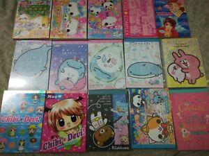 Kawaii grab bag 20 Large loose Memo Sheets Stationery lot