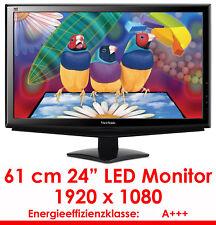 "60CM 24 "" Professional TFT LED Display Monitor Viewsonic VA2448 LED DVI & VGA"