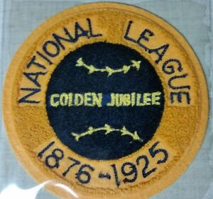 """MLB COOPERSTOWN COLLECTION 6"""" 1925 NATIONAL LEAGUE GOLDEN JUBILEE - NIP!"""