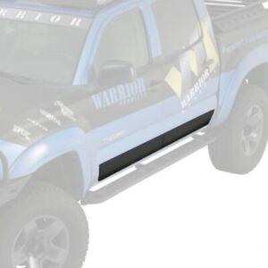 Toyota Tacoma 2005-2015 Warrior S4900 Black Side door Plates