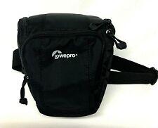 Lowepro Toploader Zoom 45 AW II Camera Case for DSLR and Lens, Black LP36700