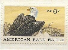 US 1387 American Bald Eagle 6c single MNH 1970