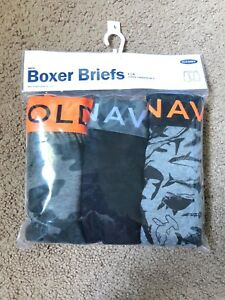 Old Navy Boys Boxer Briefs Size Large 3 Pack