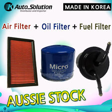 OIL AIR FUEL FILTER KIT A360 Z495 Z348 fits FORESTER IMPREZA LIBERTY OUTBACK