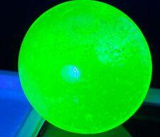 UV Set Uranium Glass Marble King Shooter / Black Light Vaseline Glow in Dark